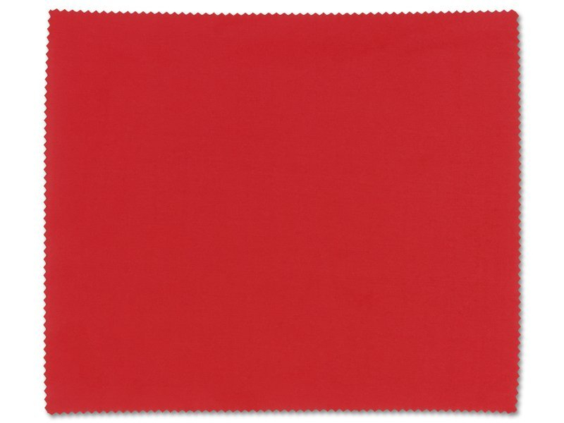 Glasses cleaning cloth - red