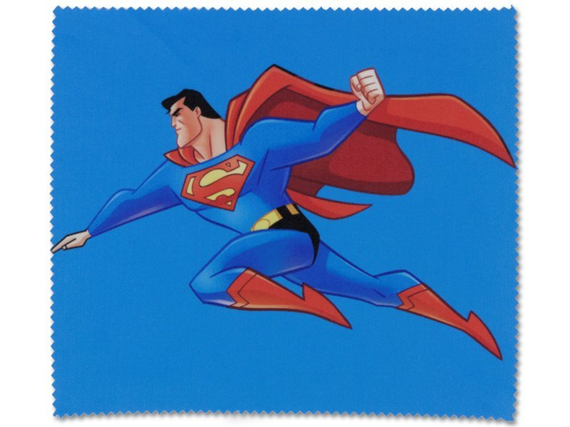 Glasses cleaning cloth - Superman
