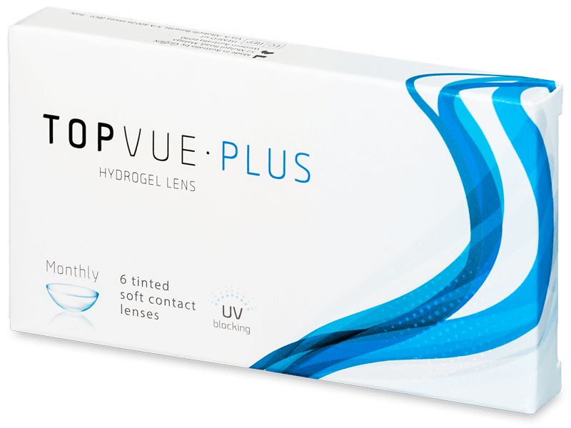TopVue Monthly Plus (6 lenses) - Monthly contact lenses