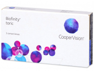 Biofinity Toric (3 lenses) - Toric contact lenses