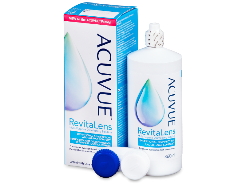 Acuvue RevitaLens Solution 360 ml  - Cleaning solution