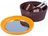 Contact Lens Case with Mirror - Lens Case with mirror Muffin - orange