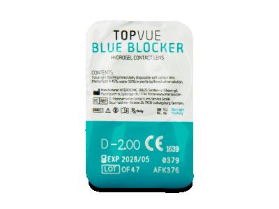 TopVue Blue Blocker (90 lenses) - Blister pack preview