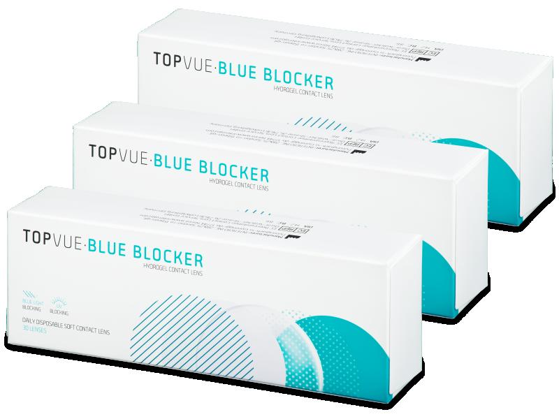 TopVue Blue Blocker (90 lenses) - Daily contact lenses