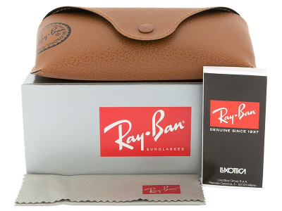 Ray-Ban Original Aviator RB3025 - 112/17  - Preview pack (illustration photo)