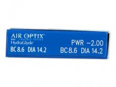 Air Optix plus HydraGlyde (6 lenses) - Attributes preview