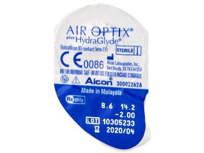 Air Optix plus HydraGlyde (3 lenses) - Blister pack preview