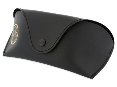 Ray-Ban RB3183 - 004/71  - Original leather case (illustration photo)