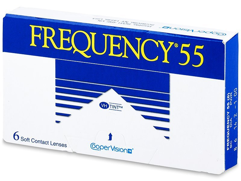 Frequency 55 (6lenses) - Monthly contact lenses
