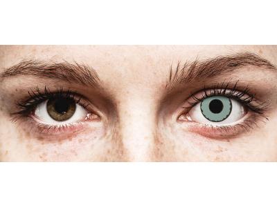 CRAZY LENS - Zombie Virus - daily plano (2 lenses)