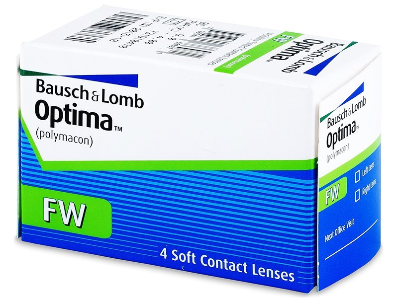 Quarterly OptimaFW (4lenses) - Monthly contact lenses
