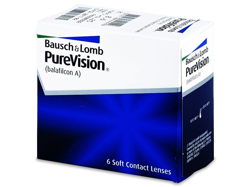 PureVision (6 lenses) - Monthly contact lenses