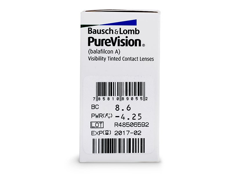 PureVision (6 lenses) - Attributes preview