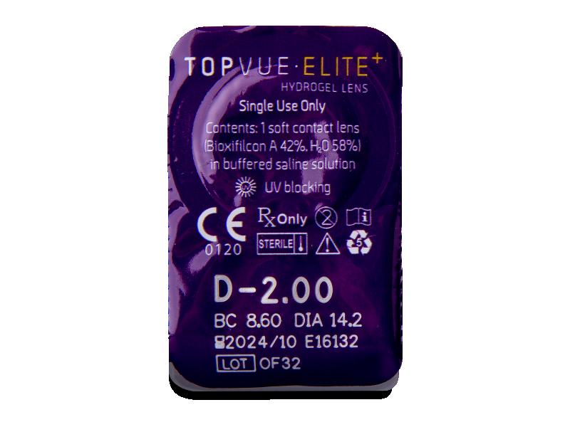 TopVue Elite+ (30 lenses) - Blister pack preview