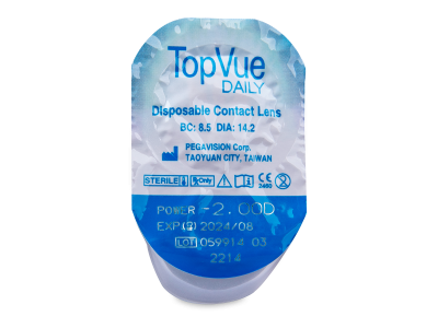 TopVue Daily (90 lenses) - Blister pack preview