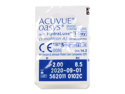 Acuvue Oasys 1-Day (30 lenses) - Blister pack preview