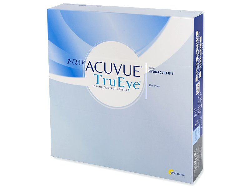 1 Day Acuvue TruEye (90lenses) - Daily contact lenses