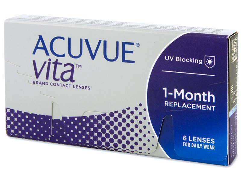 Acuvue Vita (6 lenses) - Monthly contact lenses