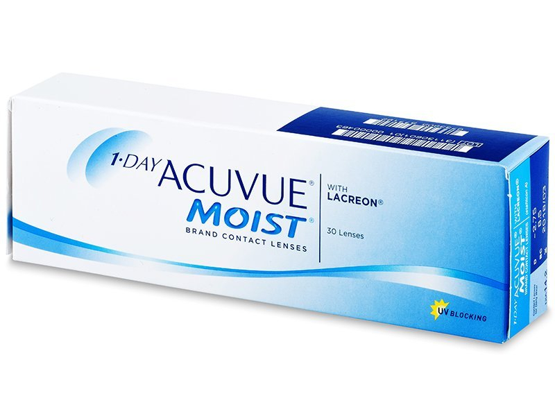 1 Day Acuvue Moist (30 lenses) - Daily contact lenses
