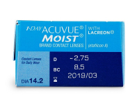 1 Day Acuvue Moist (30lenses) - Attributes preview