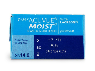 1 Day Acuvue Moist (30 lenses) - Attributes preview