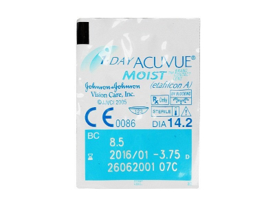 1 Day Acuvue Moist (30 lenses)