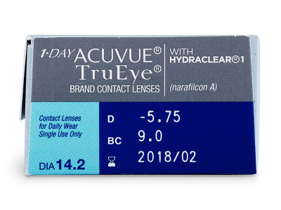 1 Day Acuvue TruEye (30lenses) - Attributes preview