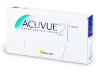 Johnson and Johnson Contact Lenses - Acuvue 2 (6lenses)