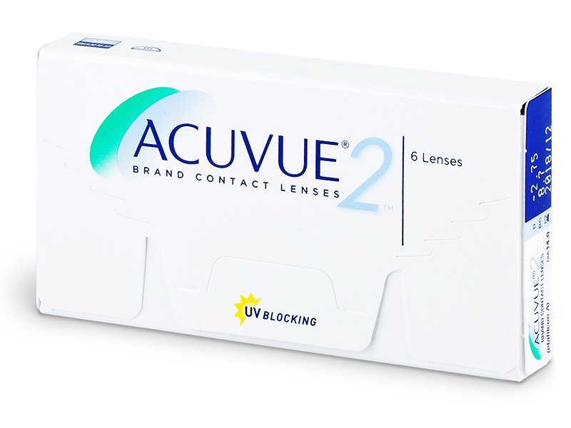 Bi-weekly contact lenses - Acuvue 2 (6 lenses)