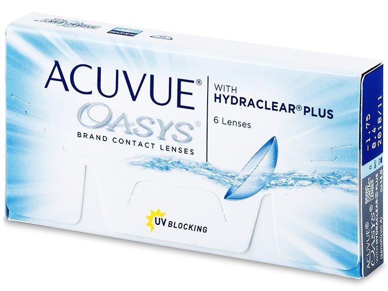 Acuvue Oasys (6lenses) - Bi-weekly contact lenses