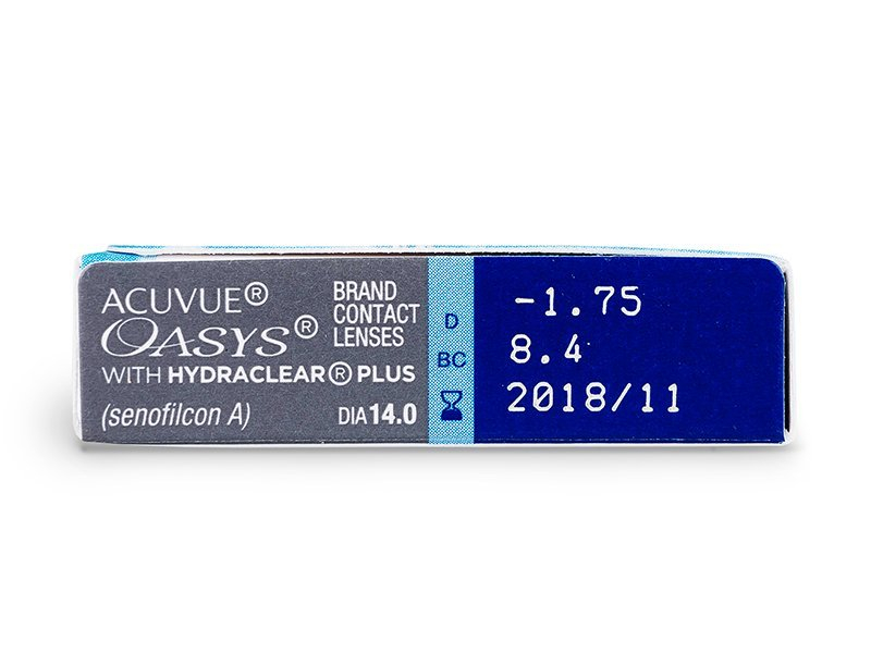 Attributes preview - Acuvue Oasys (6 lenses)