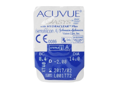 Acuvue Oasys (6 lenses) - Blister pack preview