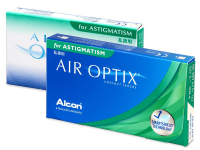 Air Optix for Astigmatism (3 lenses) - Toric contact lenses