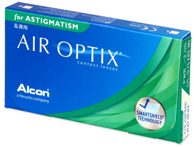 Toric contact lenses - Air Optix for Astigmatism (3 lenses)
