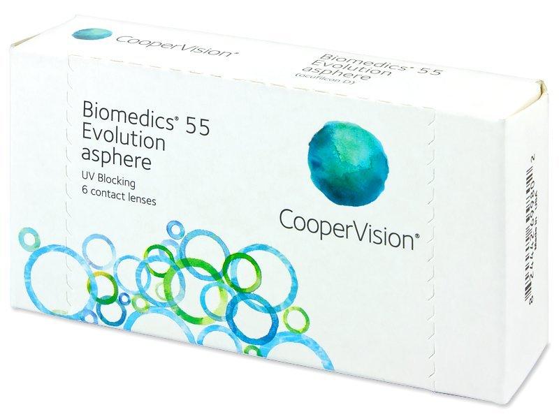 Biomedics 55 Evolution (6lenses) - Monthly contact lenses
