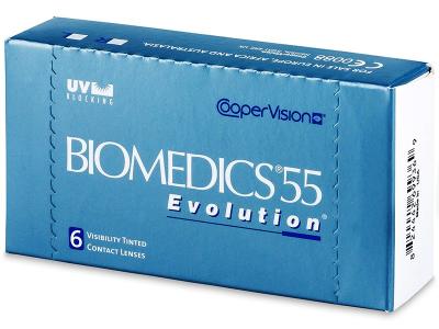 Biomedics 55 Evolution (6lenses) - Previous design