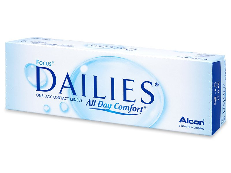 Focus Dailies All Day Comfort (30lenses) - Daily contact lenses