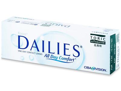 Focus Dailies Toric (30lenses) - Toric contact lenses