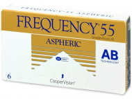 Monthly Contact Lenses - Frequency 55 Aspheric (6 lenses)