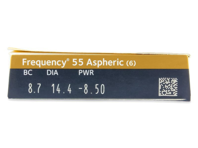 Frequency 55 Aspheric (6lenses) - Attributes preview