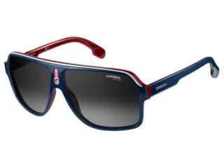 Rectangular sunglasses - Carrera 1001/S 8RU/9O