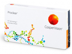 Proclear Sphere (6 lenses) - Monthly contact lenses