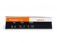 Proclear Sphere (6lenses) - Attributes preview