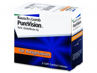 Toric Contact Lenses - PureVision Toric (6 lenses)