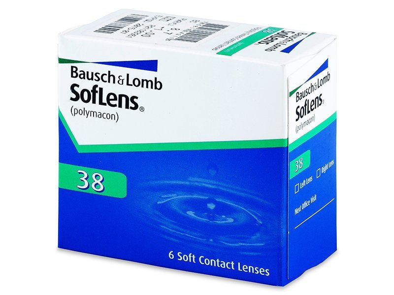 SofLens 38 (6lenses) - Monthly contact lenses