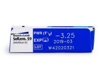 SofLens 59 (6lenses) - Attributes preview