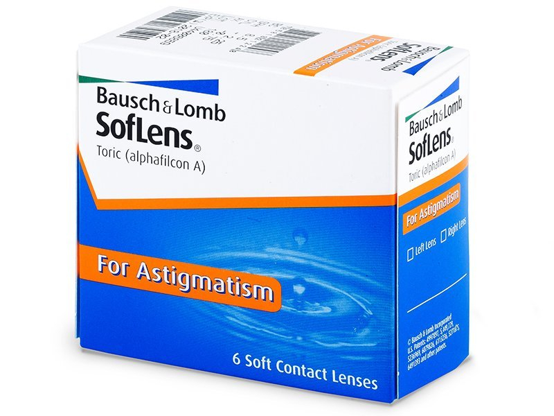 SofLens Toric (6lenses) - Toric contact lenses