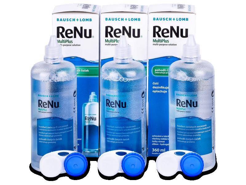 ReNu MultiPlus Solution 3x360ml  - Economy 3-pack - solution
