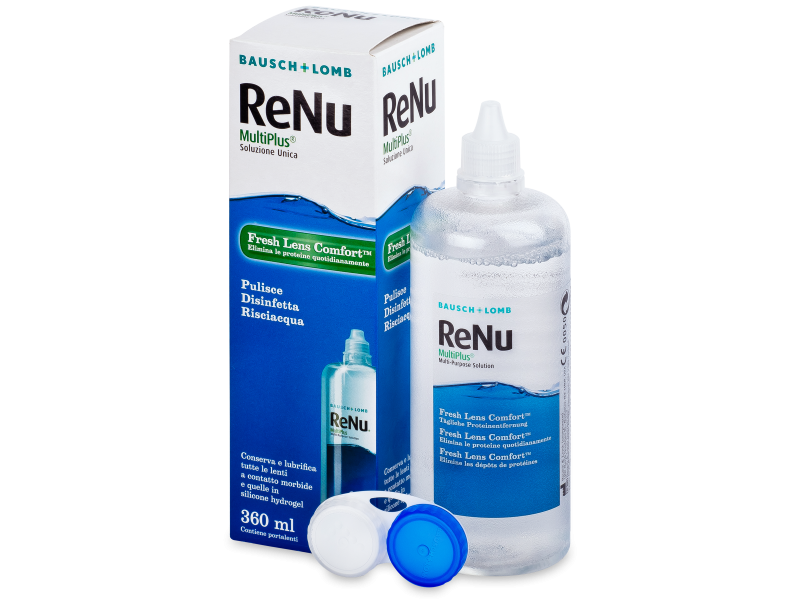 ReNu MultiPlus Solution 360ml  - Cleaning solution