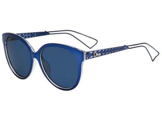 Oval sunglasses - Christian Dior Diorama2 TGV/KU